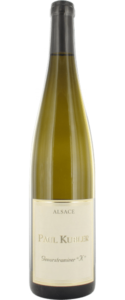 Gewurztraminer K Blanc Alsace Paul Kubler