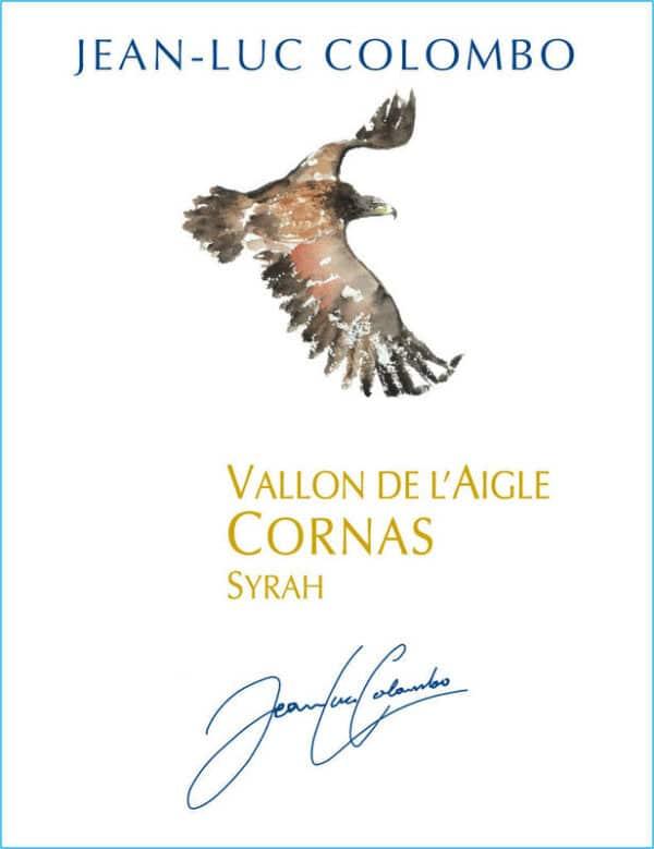 étiquette CORNAS LE VALLON DE L'AIGLE, 2017