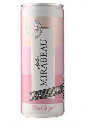 Mirabeau Prêt-à-Porter Canettes Rosé to Go!