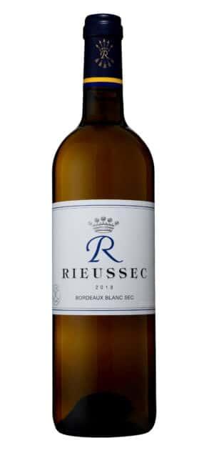 R De Rieussec Bordeaux BLanc Sec