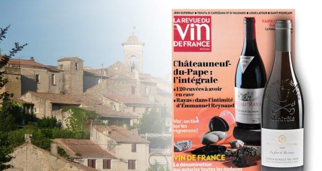 Chateauneuf du pape Vin de france Notes 2020