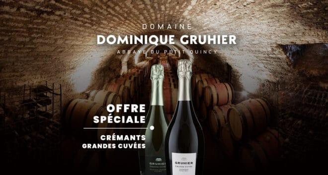 Dominique Gruhier offre Crémants Bourgogne