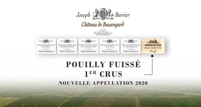 Joseph Burrier nouveau Pouilly-Fuissé 2020