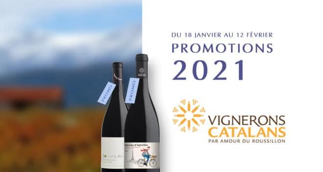 Les promotions Vignerons Catalans 2021