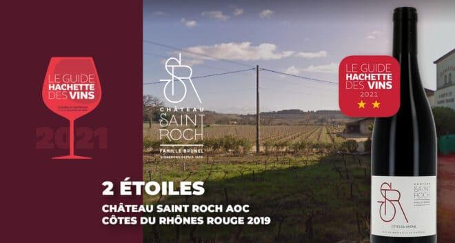 Château la Gardine Saint Roch - Guide Hachette 2021