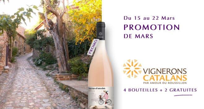 Offre spéciale Mars Vignerons Catalans
