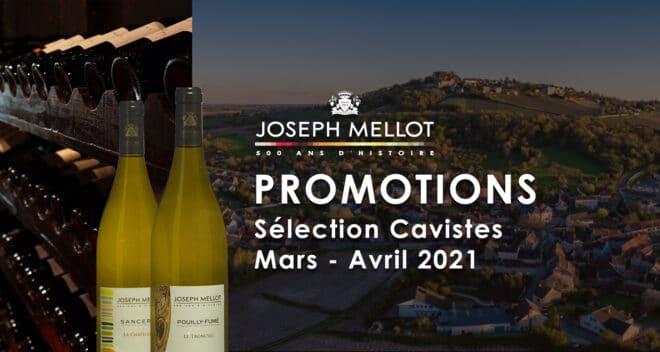 Promotion Joseph Mellot Selection Caviste 2021