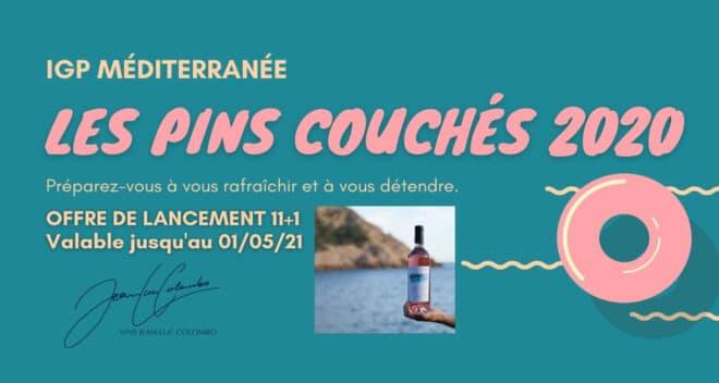 Offre lancement Pins Couchés 2020 Comlobo Avril